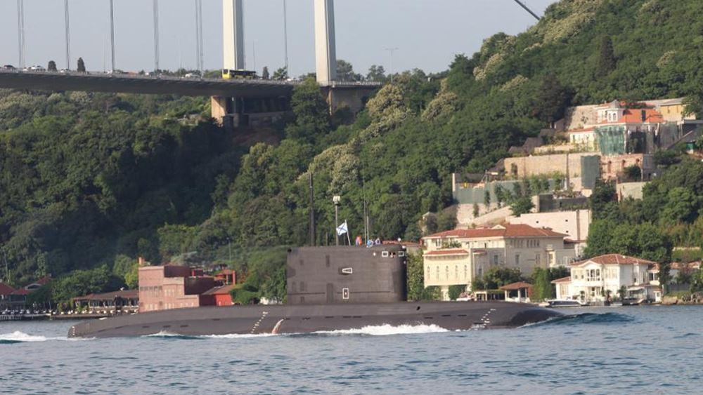 Ρωσικό πάνοπλο υποβρύχιο διέσχισε τον Βόσπορο: Βρήκε τρόπο η Ρωσία να παρακάμψει τη Συνθήκη του Μοντρέ;