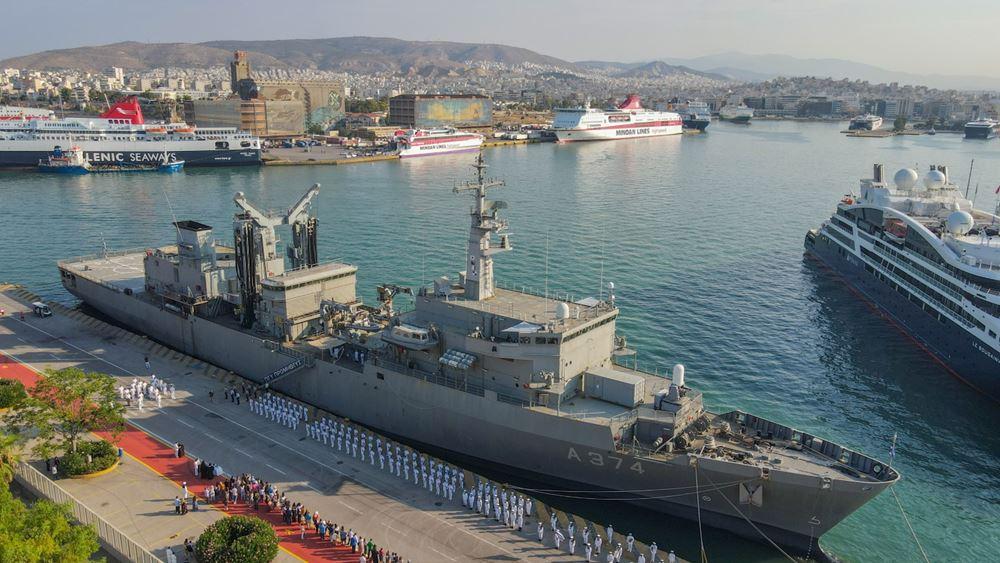 Με δύο σκάφη του Πολεμικού Ναυτικού ο θερινός εκπαιδευτικός πλους της Σχολής Ναυτικών Δοκίμων