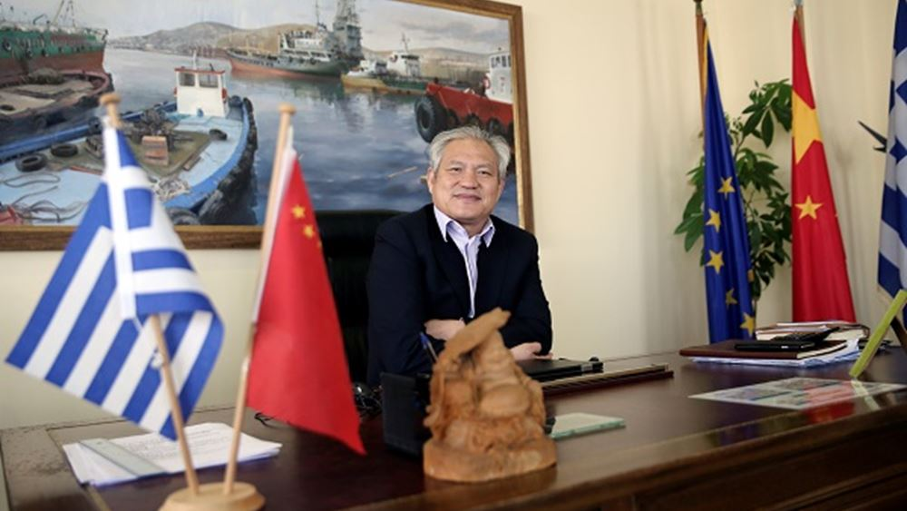 Captain Fu Chengqiu: Ο Πειραιάς διεθνής κόμβος κρουαζιέρας