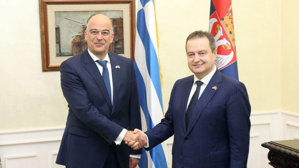 Κοινό περιφερειακό μέτωπο Ελλάδας, Σερβίας, Κύπρου, συμφώνησαν Δένδιας-Ντάτσιτς