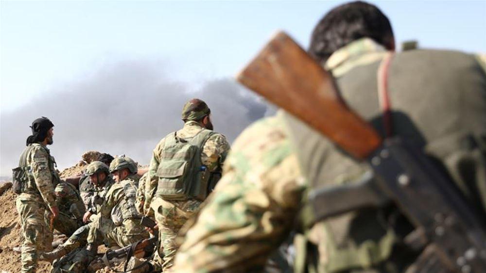 Συρία: Τρεις μαχητές σκοτώθηκαν χτες κατά την επίθεση εναντίον της Δαμασκού