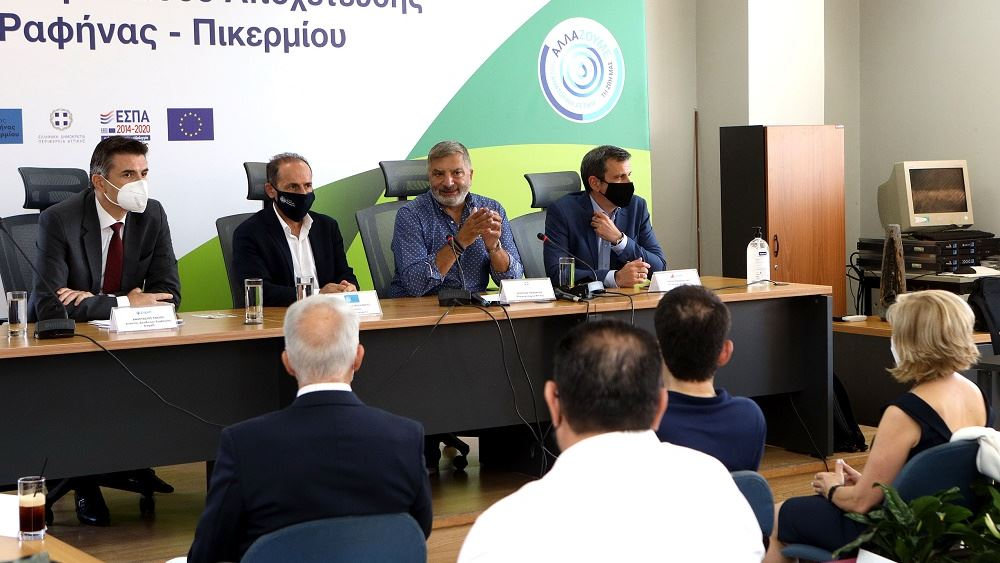 Ξεκινάει η κατασκευή δικτύου αποχέτευσης στις περιοχές Ραφήνας - Πικερμίου και Σπάτων-Αρτέμιδας
