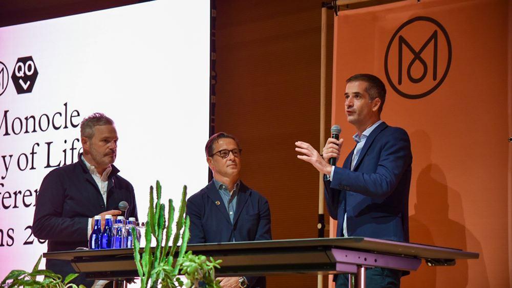 Κώστας Μπακογιάννης στο Συνέδριο του Monocle: Η Αθήνα γεννιέται ξανά