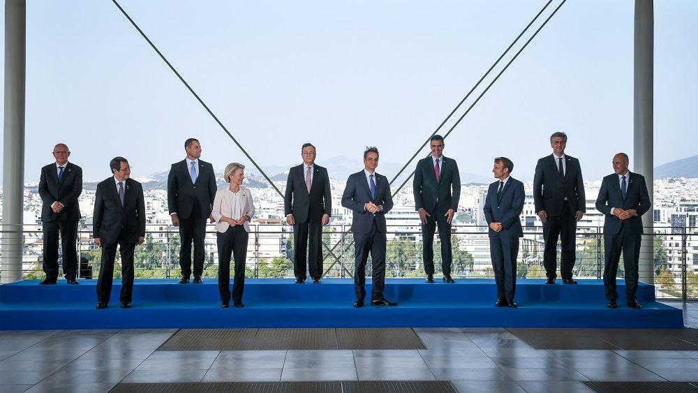 Παρακολουθήστε ζωντανά τις δηλώσεις των ηγετών που συμμετέχουν στο EUMED9