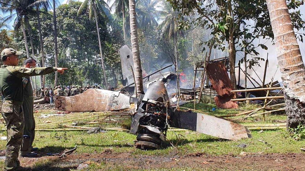 Συντριβή C-130 στις Φιλιππίνες: Συνολικά 50 νεκροί και 49 τραυματίες