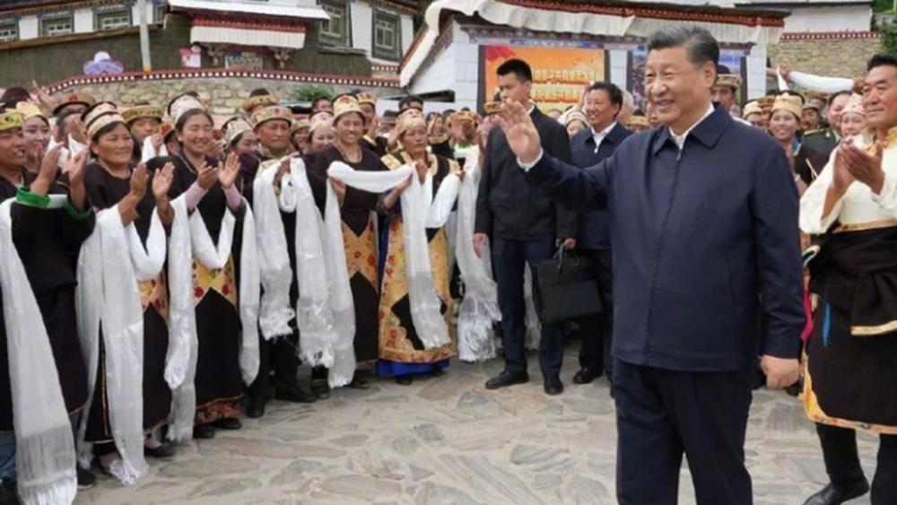 Κίνα: Για πρώτη φορά στο Θιβέτ ο πρόεδρος Σι