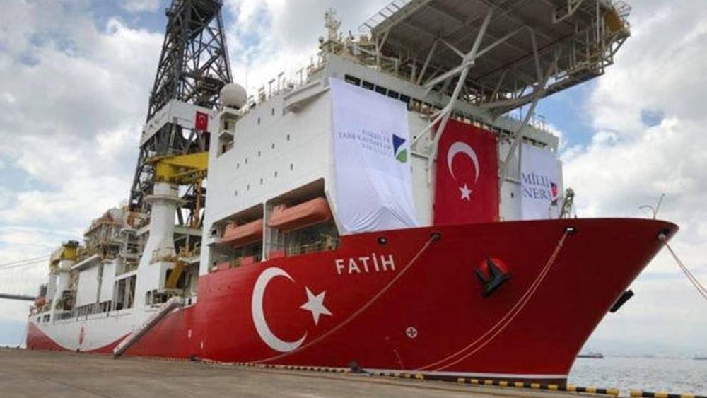 Άρχισε η πρώτη γεώτρηση της Τουρκίας στην Ανατολική Μεσόγειο