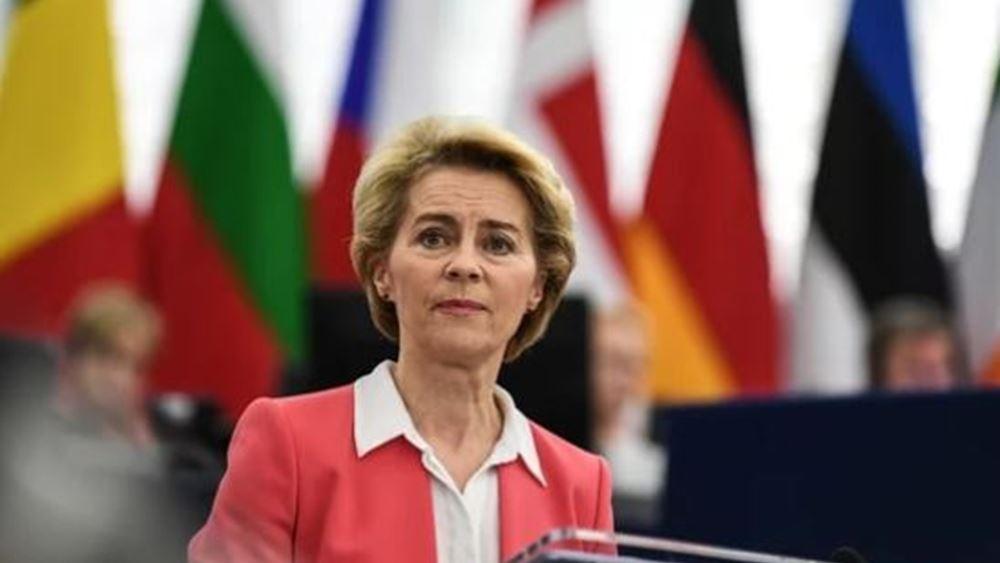 ΕΕ: Ούρσουλα φον ντερ Λάιεν και Σαρλ Μισέλ ανέλαβαν τα καθήκοντά τους