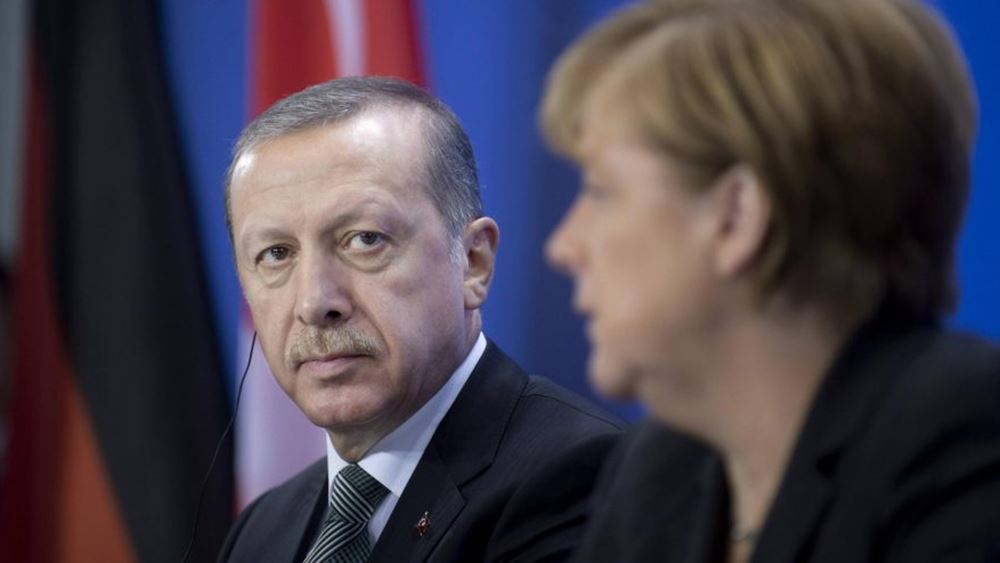 Μέρκελ: Μόνο υπό την επίβλεψη του ΟΗΕ επανεγκατάσταση στη Συρία προσφύγων από την Τουρκία