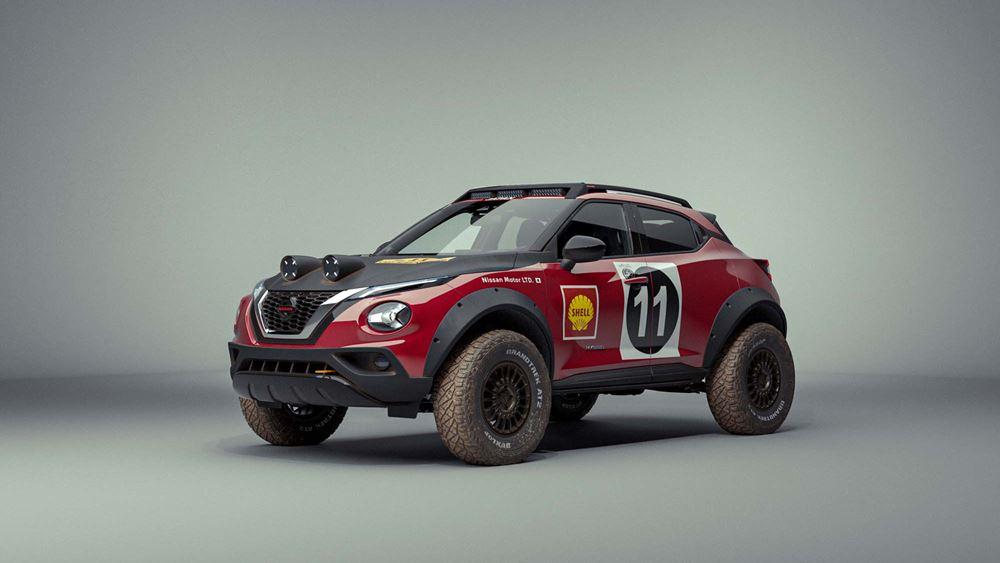 Πρεμιέρα για το νέο Nissan Juke Rally Tribute Concept