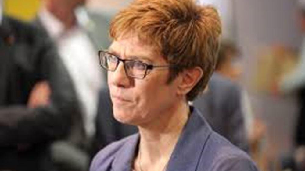 Η Άνεγκρετ Κραμπ-Κάρενμπαουερ θα είναι η νέα υπουργός Άμυνας της Γερμανίας σύμφωνα με το CDU