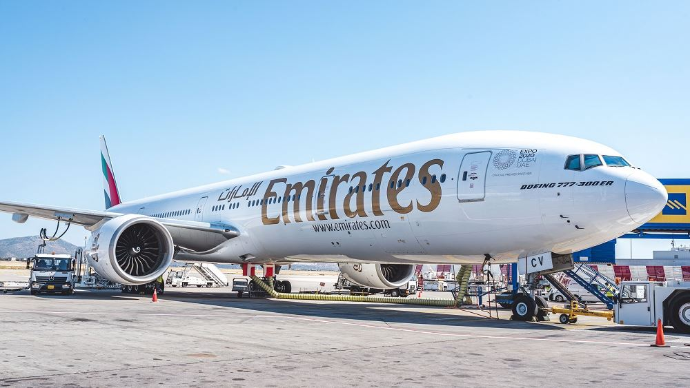 Emirates Αθηνα Νεα Υορκη ΗΠΑ