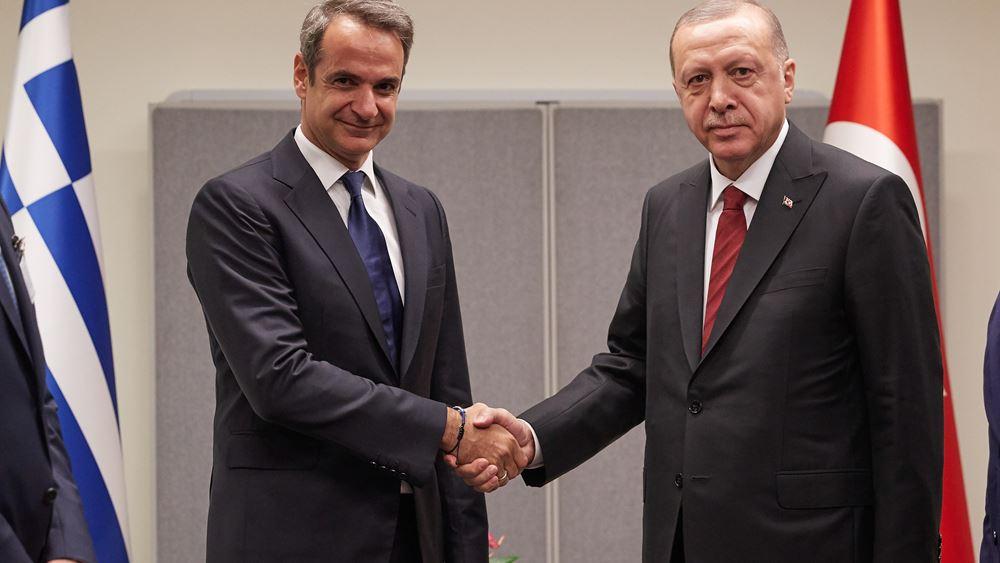 Το Στέιτ Ντιπάρτμεντ χαιρετίζει την τηλεφωνική επικοινωνία Μητσοτάκη-Ερντογάν