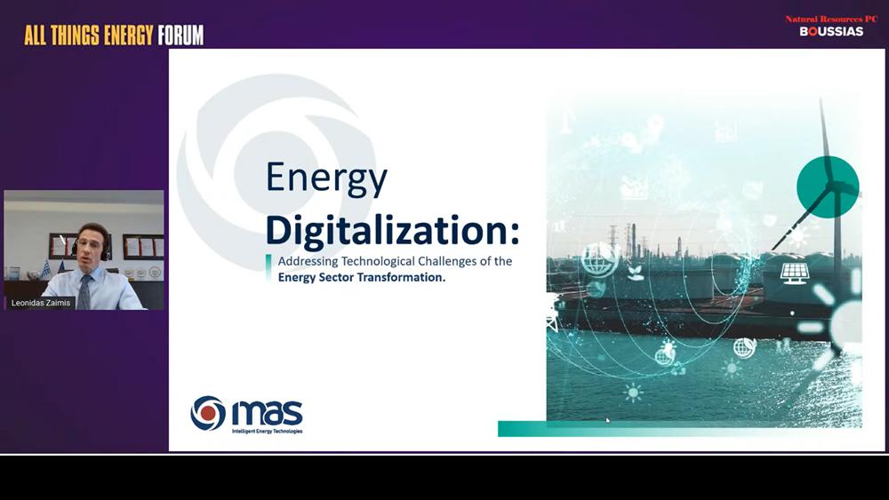 Η MAS AE για τον ψηφιακό μετασχηματισμό, τις έξυπνες λύσεις και τη βιωσιμότητα στον τομέα της ενέργειας