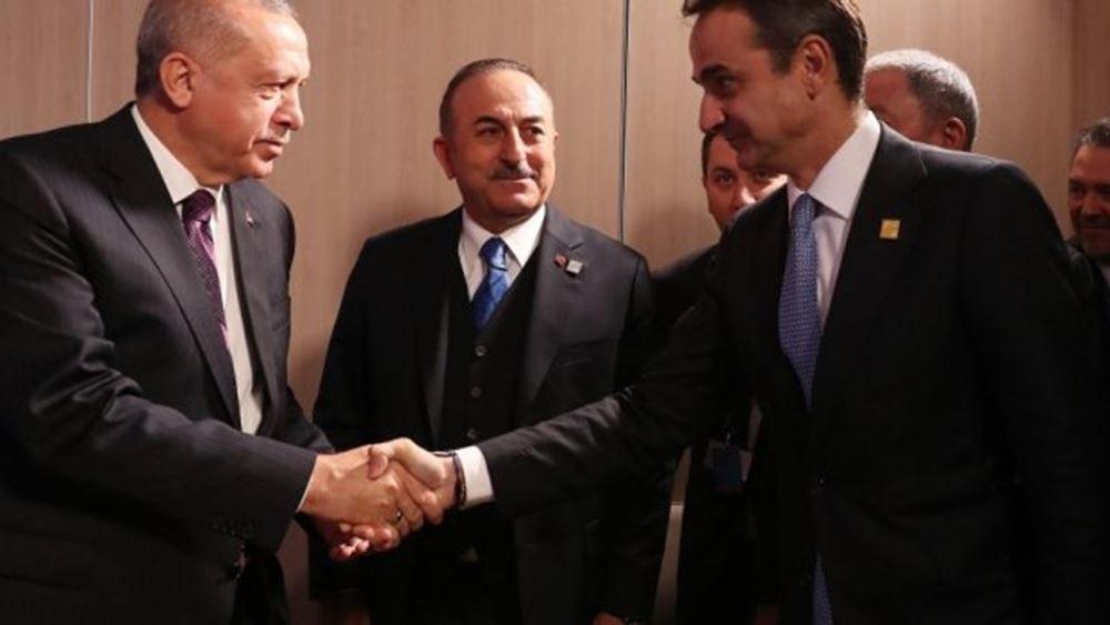 Ο Τραμπ... φταίει που καθυστέρησε η συνάντηση Μητσοτάκη-Ερντογάν