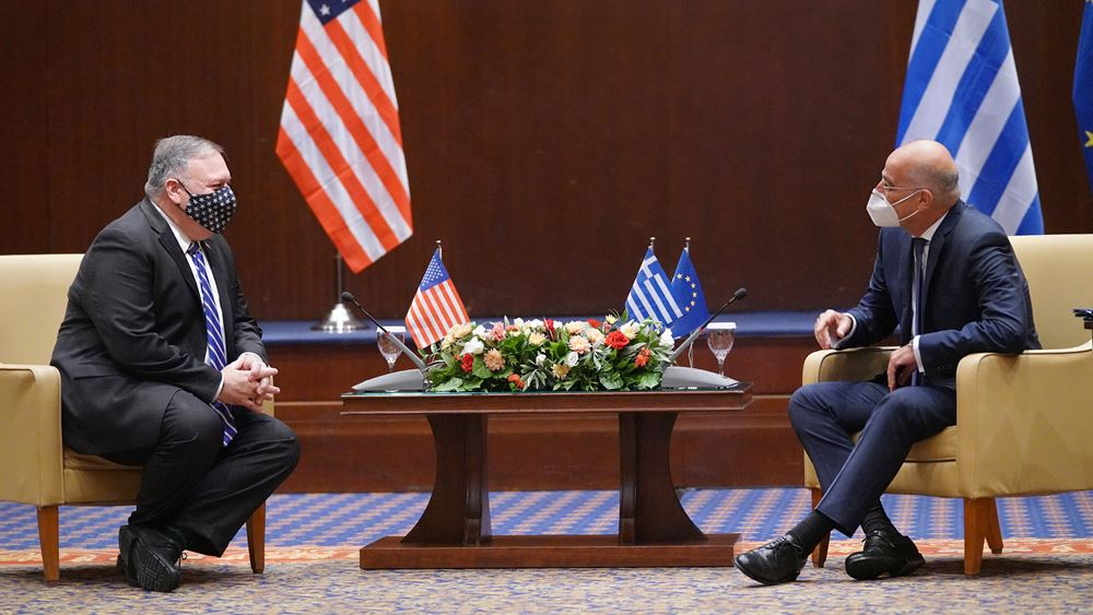 Ελλάδα - ΗΠΑ: Επιβεβαιώνονται οι εξαιρετικές διμερείς σχέσεις
