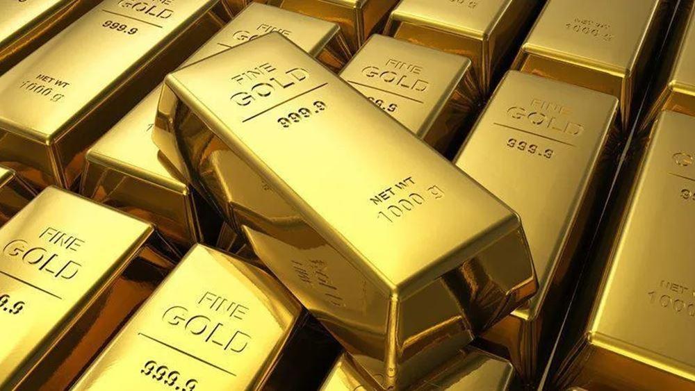 Σε υψηλό δύο μηνών έκλεισε ο χρυσός