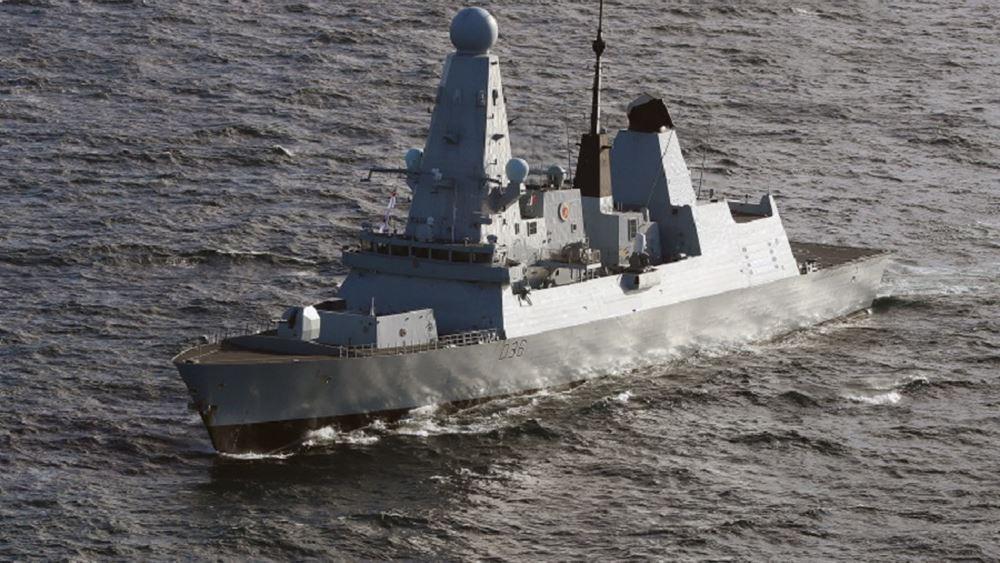 HMS Defender Βρετανια Ρωσια