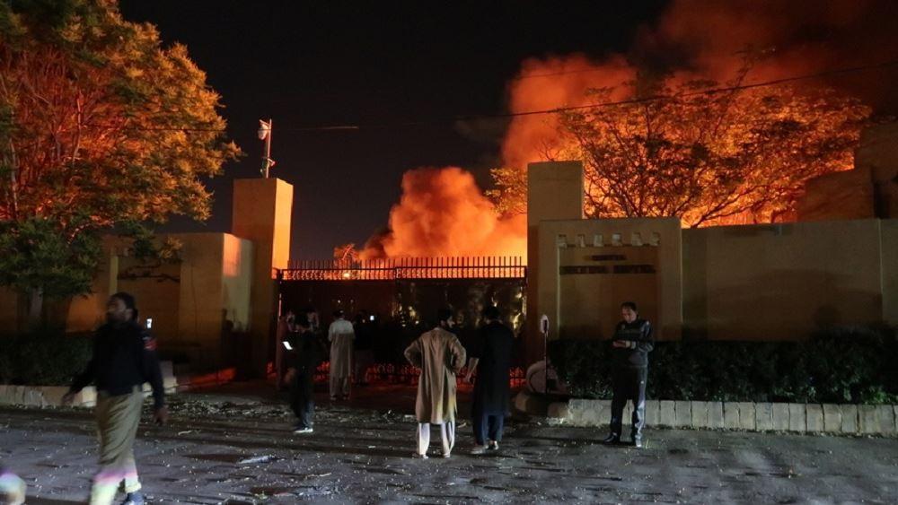 Πακιστάν: Πέντε νεκροί από βομβιστική επίθεση εχθές σε ξενοδοχείο που διέμενε ο πρέσβης της Κίνας