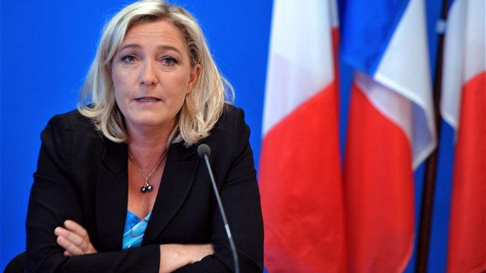 """Λεπέν: Ιδεολογική νίκη το χαρτοφυλάκιο """"προστασίας του ευρωπαϊκού τρόπου ζωής"""""""