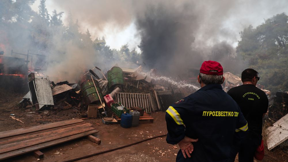Προσήχθη μελισσοκόμος για την πυρκαγιά σε Σταμάτα, Ροδόπολη, Διόνυσο