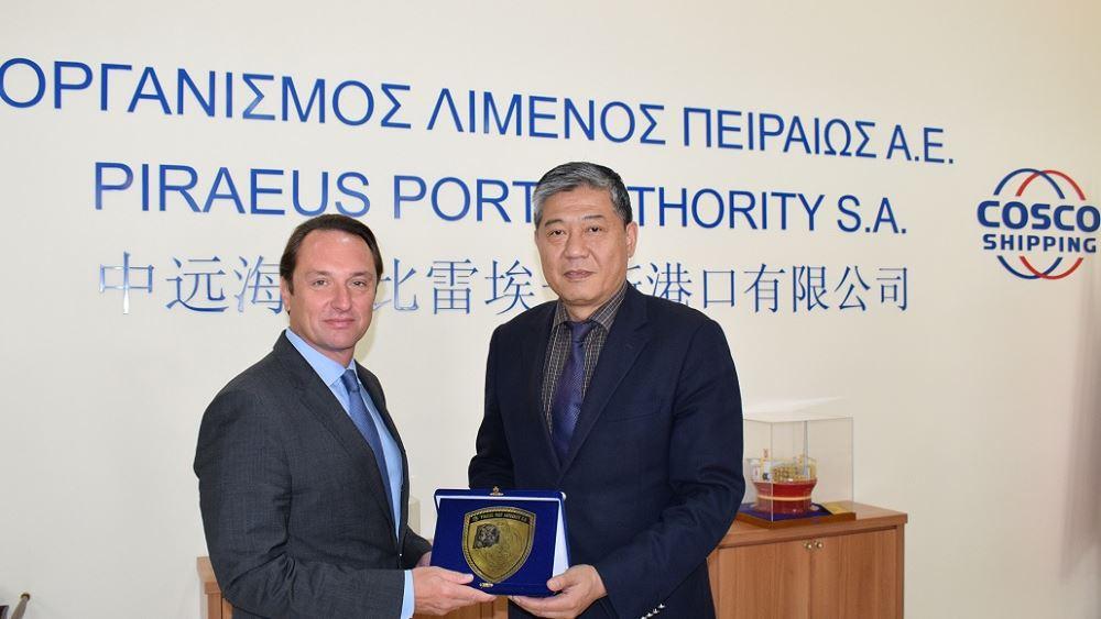 Επίσημη επίσκεψη του Πρέσβη της Ουκρανίας στον ΟΛΠ