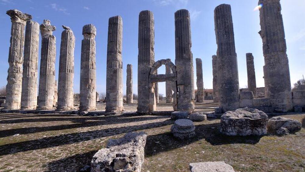 Τούρκοι αρχαιολόγοι αναβιώνουν την αρχαία Διοκαισάρεια με τον ναό του Ολβίου Διός