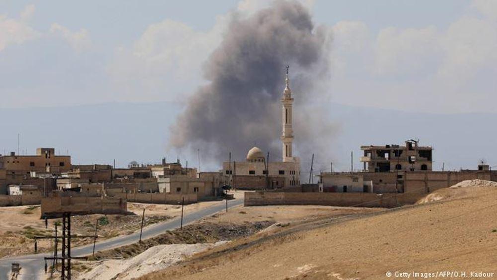 """ΟΗΕ: Σε """"απόλυτο πανικό"""" οι άμαχοι από την επανάληψη των αεροπορικών επιδρομών στην Ιντλίμπ"""