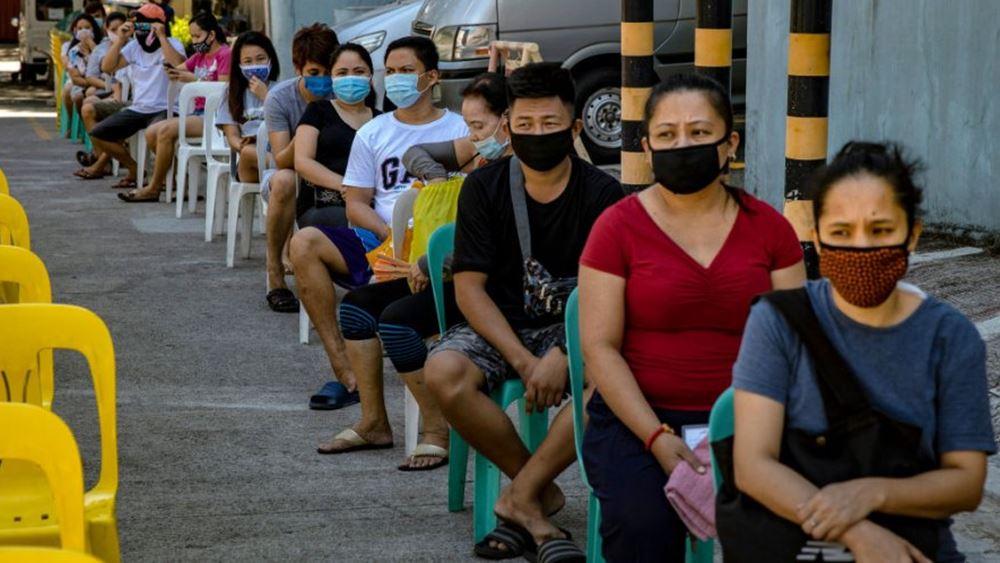 Φιλιππίνες: Ρεκόρ ημερησίων κρουσμάτων των τελευταίων έξι εβδομάδων