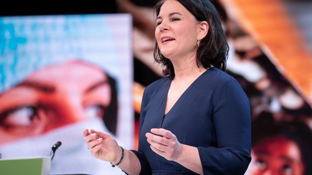 Annalena Baerbock υποψήφια καγκελάριος Πράσινοι Γερμανία