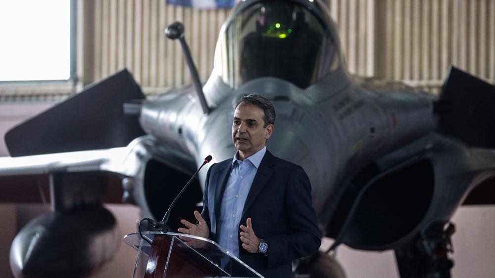 Κ. Μητσοτάκης: Η Ελλάδα θα συνεχίσει να αναβαθμίζει τις ένοπλες δυνάμεις της