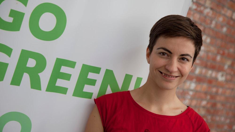 H Γερμανίδα πράσινη πολιτικός Σκα Κέλερ υποψήφια για την προεδρία του Ευρωπαϊκού Κοινοβουλίου