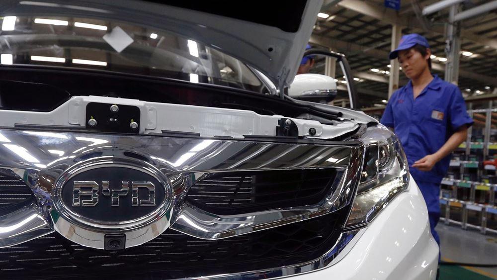 BYD: Ισχυρή αύξηση πωλήσεων ηλεκτρικών αυτοκινήτων τον Αύγουστο