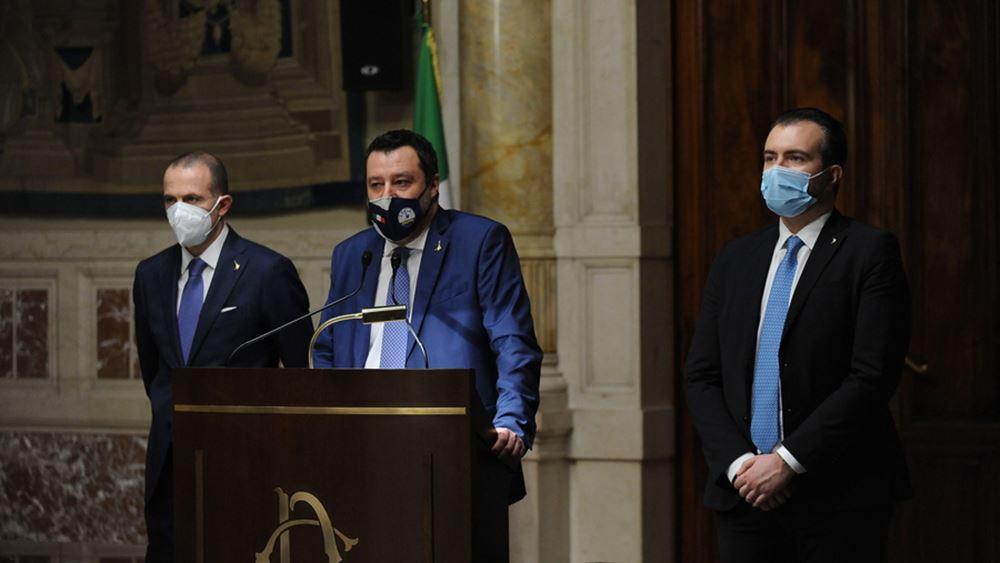 Ιταλία: O Mατέο Σαλβίνι δεν θα παραπεμφθεί σε δίκη