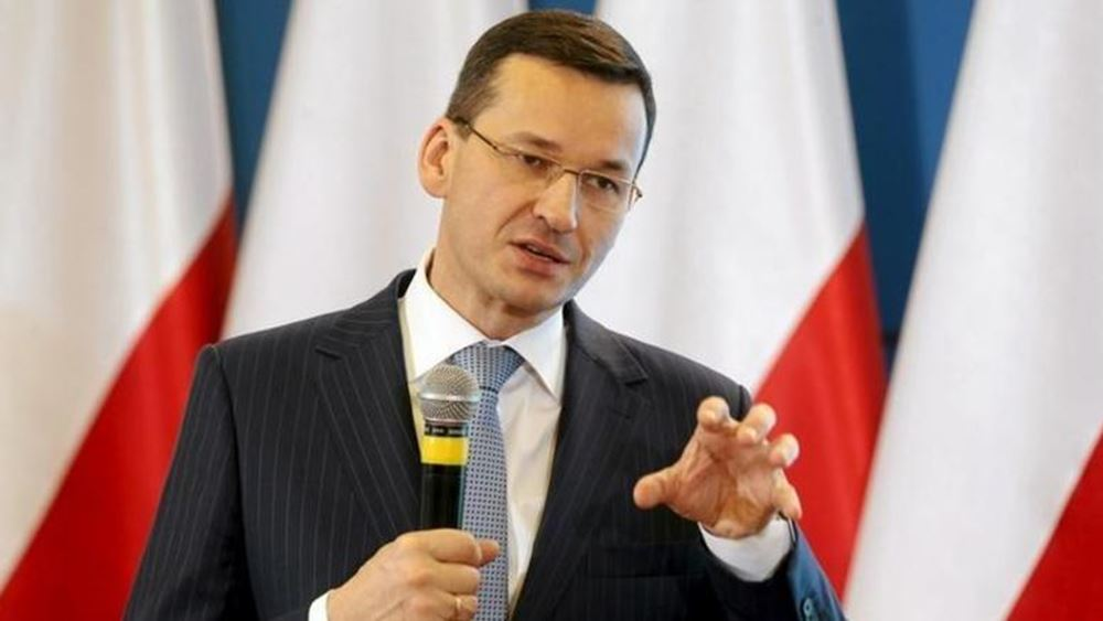 """''Επικίνδυνα"""" χαρακτήρισε ο Πολωνός Πρωθυπουργός τα σχόλια του Μακρόν για το ΝΑΤΟ"""