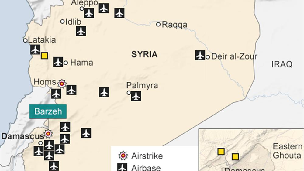 Ρωσία: Ισραηλινές πυραυλικές επιθέσεις κατά της Συρίας απείλησαν χθες δύο εμπορικές πτήσεις