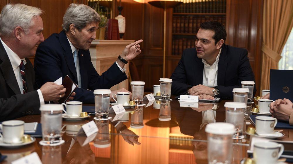 John Kerry: Οι αγωγοί θα φέρουν και τις επενδύσεις στην Ελλάδα