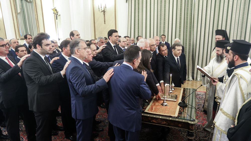Οι δηλώσεις των νέων υπουργών