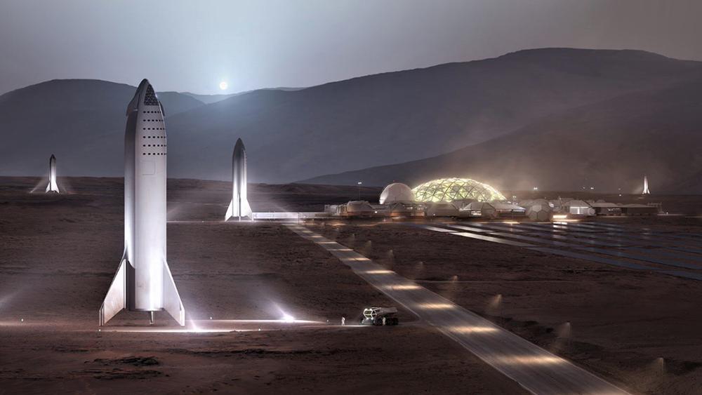 Έτσι θα είναι η διαστημική βάση στον Άρη που οραματίζεται ο Έλον Μασκ