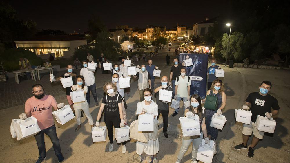 """""""Δείπνο Αγάπης"""" από τους εργαζόμενους του ΗΡΩΝΑ για τους άστεγους πολίτες της Αθήνας"""