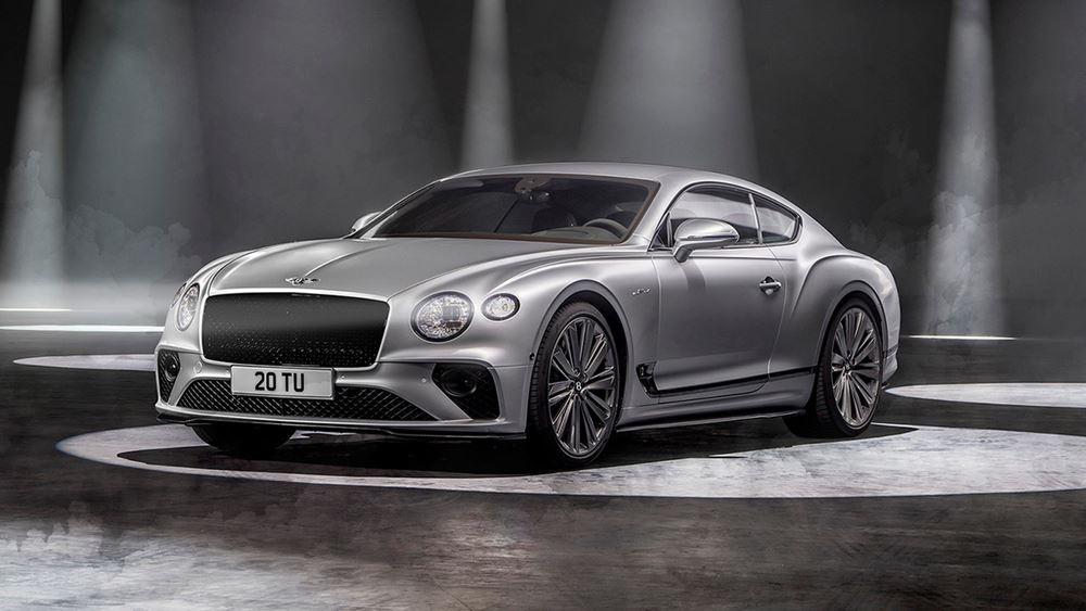 Πρεμιέρα για τη νέα Bentley Continental GT Speed