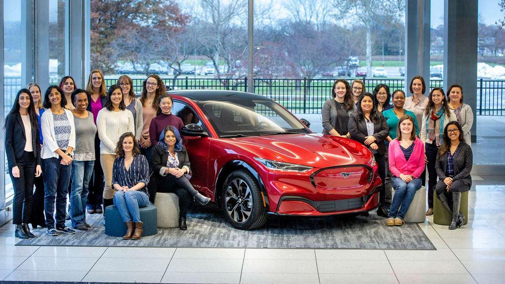 Οι γυναίκες πίσω από την εξέλιξη της ηλεκτρικής Mustang Mach-E