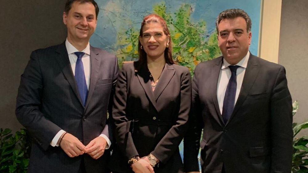 Συνάντηση ηγεσίας υπ. Τουρισμού και υφυπ. Ναυτιλίας Κύπρου για τη θαλάσσια σύνδεση των δύο χωρών