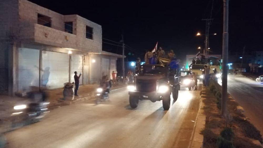 Ο συριακός στρατός μπήκε στο Κομπάνι