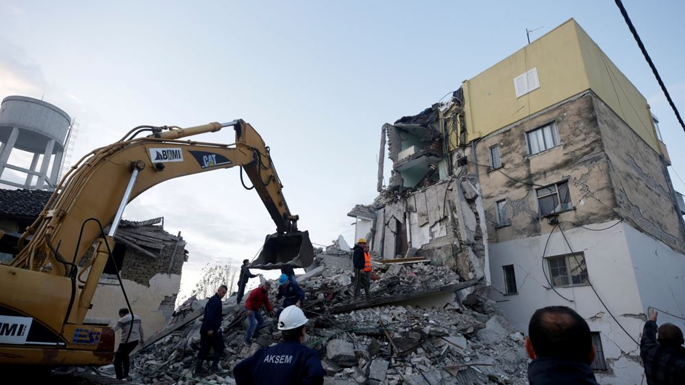 Αλβανία: Συλλήψεις για την ελλιπή ασφάλεια κτιρίων που κατέρρευσαν στο σεισμό της 26ης Νοεμβρίου