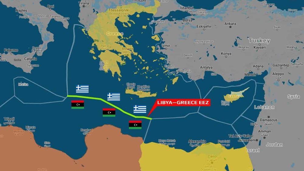 """""""Ελλάδα και Λιβύη συζητούν για οριοθέτηση θαλασσίων συνόρων"""", λένε οι δυνάμεις του Χαφτάρ"""