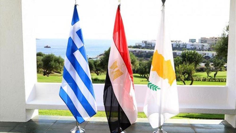 Αιγύπτιος ΥΠΑΜ: Κύπρος, Ελλάδα και Αίγυπτος προάγουν ασφάλεια, σταθερότητα, ανάπτυξη
