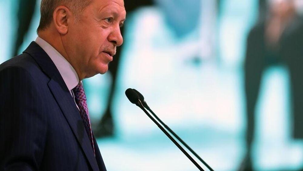 Ερντογάν: Η Ελλάδα προκαλεί - Οι εκβιασμοί δεν πιάνουν σε εμάς