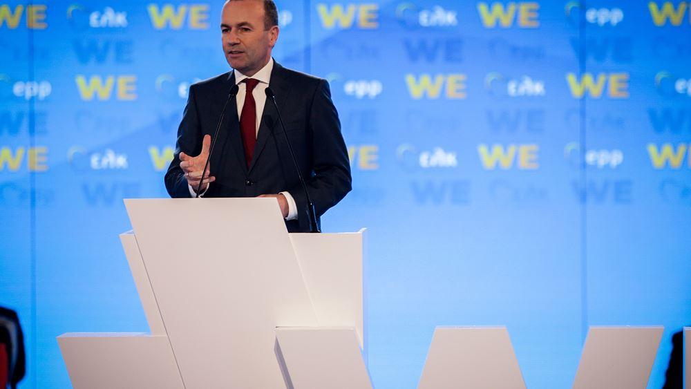 Ο Βέμπερ υπέρ της διακοπής των εξαγωγών όπλων στην Τουρκία