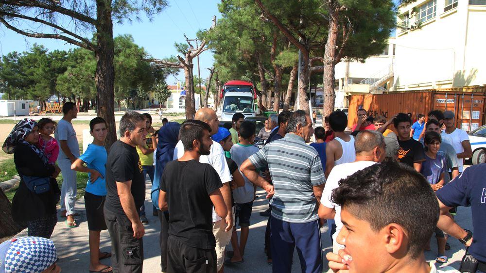 Συγκρούσεις προσφύγων με την αστυνομία στα Διαβατά